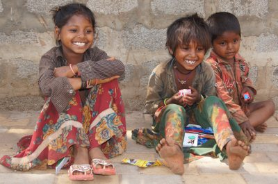 Street Children Photo - Charity Work in India